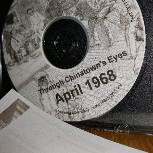 "1882 Foundation Presents ""Through Chinatown's Eyes, April 1968"" at NCSS"