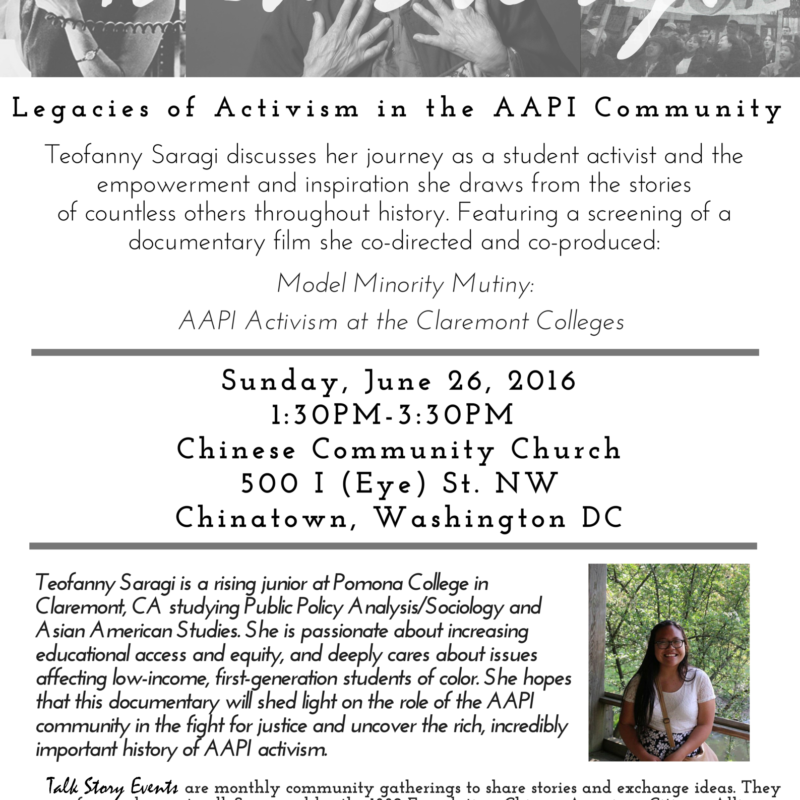 Legacies of Activism in the AAPI Community